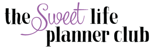 The Sweet Life Planner Club